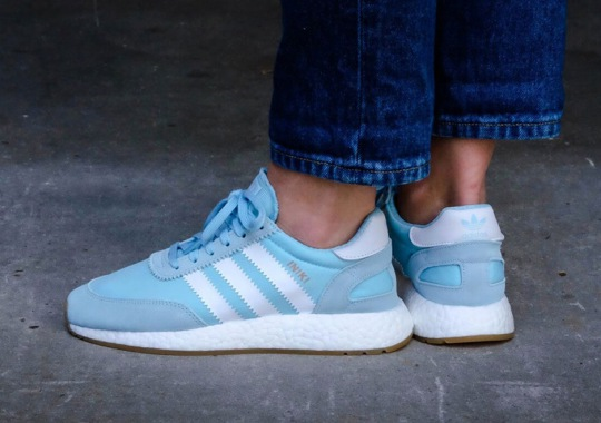"The adidas Iniki Boost Runner ""Icy Blue"" Is Hitting Stores Now"