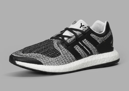 """The adidas Y-3 Pure Boost Arrives In An """"Oreo"""" Look This Fall"""
