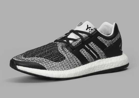"""ebf8752009de0 The adidas Y-3 Pure Boost Arrives In An """"Oreo"""" Look This Fall"""