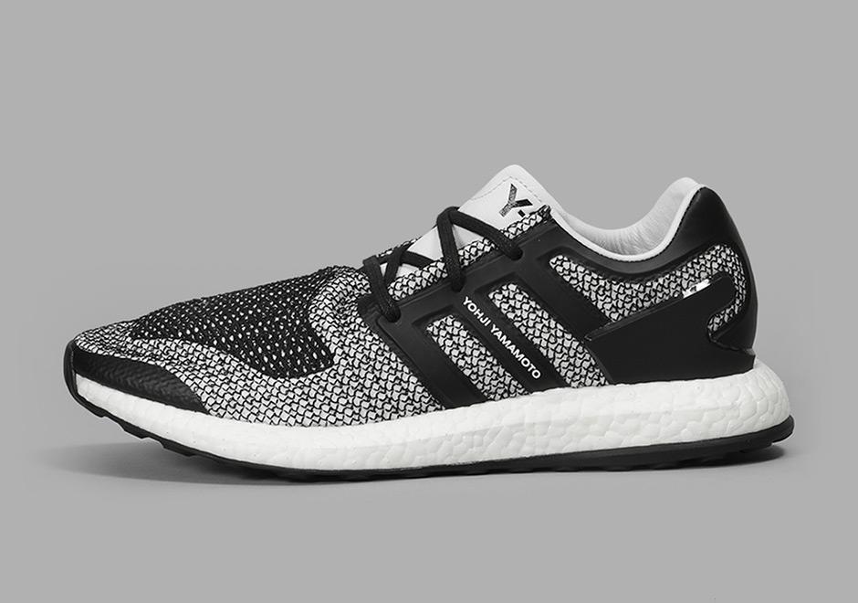 Adidas Y 3 Pure Boost Black White CP9888