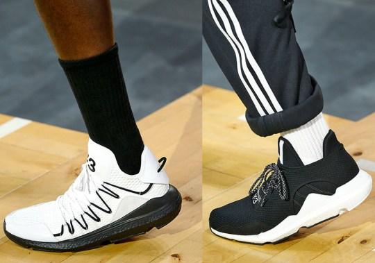 adidas Y-3 Previews Spring/Summer '18 Footwear at Paris Fashion Week