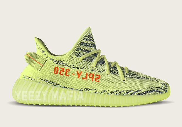 "The adidas Yeezy Boost 350 V2 ""Semi Frozen Yellow"" Could Be The Most Limited Yeezy Yet"