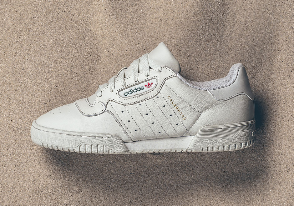 "After a surprise limited drop online at the Yeezy Supply website in March, the adidas YEEZY Powerphase ""Calabasas"" is finally getting a wider release."