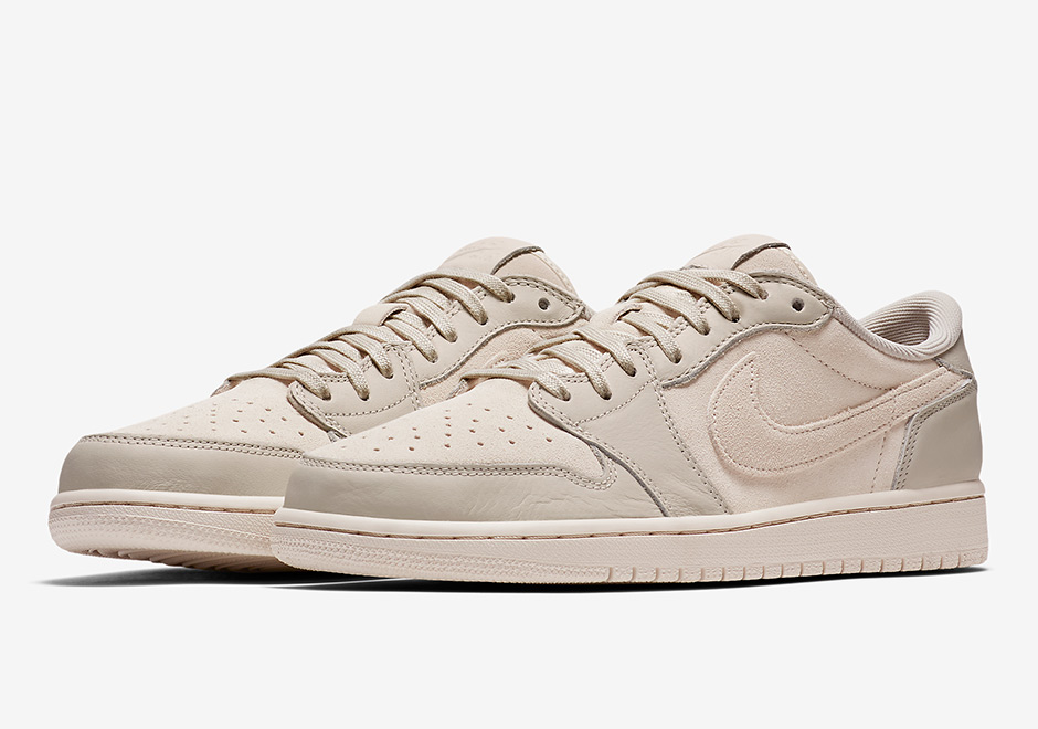Official Images Of The Air Jordan 1 Low Premium In Tonal Black And Tan