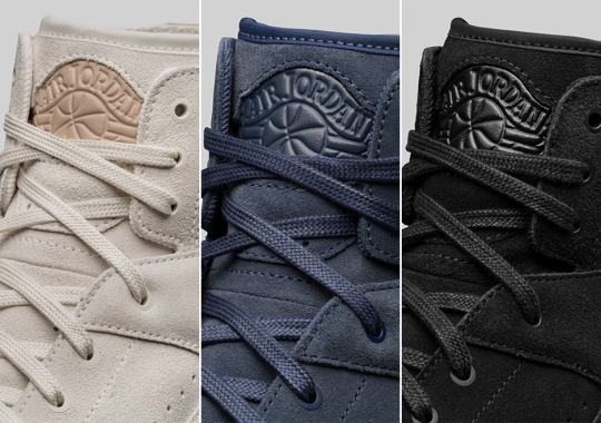 The Air Jordan 2 Decon Returns In 3 Tonal Colorways For Fall 2017