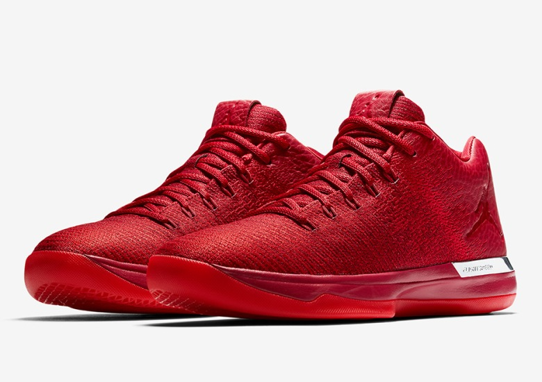 timeless design 1ac7c e6e30 You ll Never See Jimmy Butler In These Red Air Jordan 31 Lows Ever Again