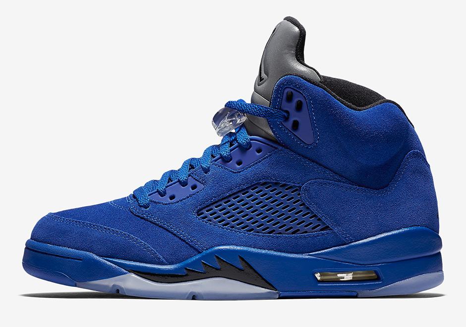 6504ce13e1ad Air Jordan 5 Blue Suede 136027-401 Release Date