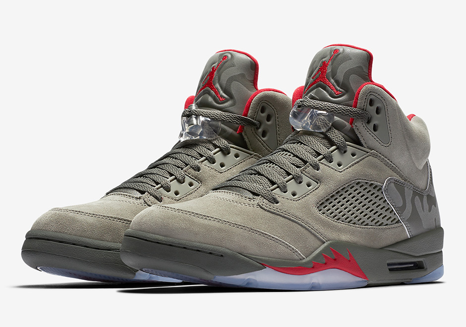 "uk availability 64260 6a8d6 The Military Themes Continue With The Air Jordan 5 ""Reflective Camo"""