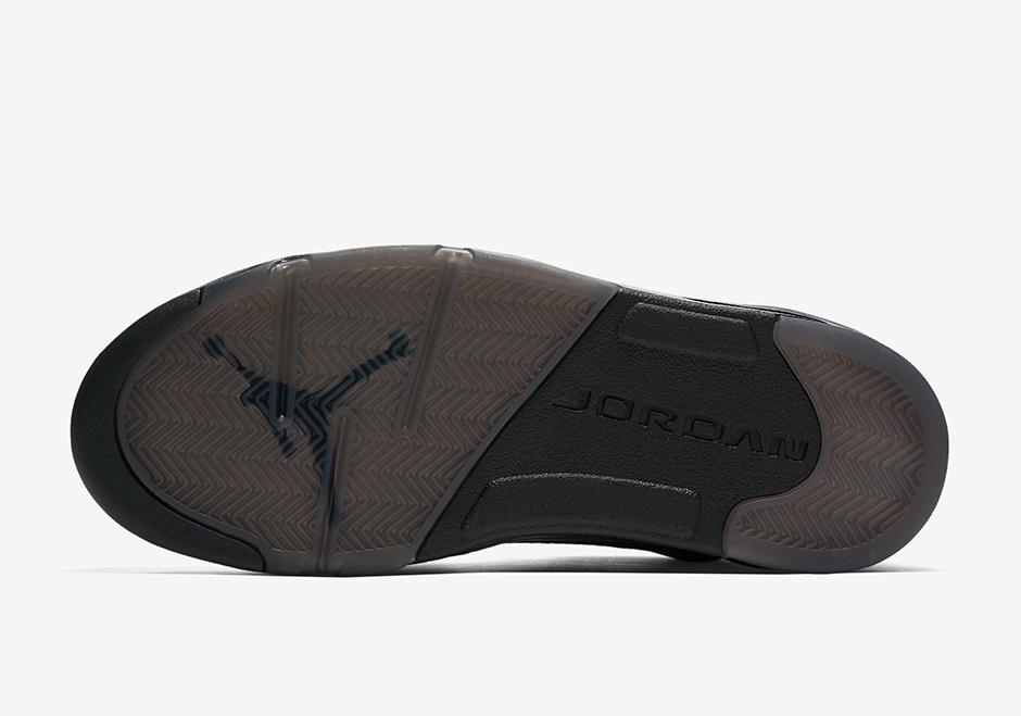 52eafd83c4a4 Air Jordan 5 Premium Flight Jacket Release Date 881432-010 ...