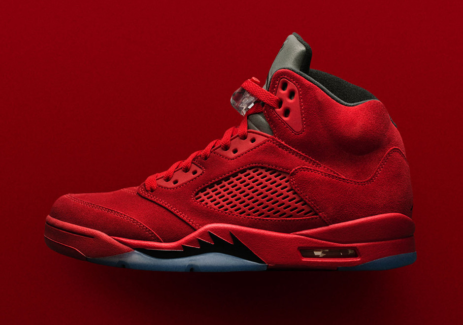 8a8b68d434e We re only a few days away from the release of the Jordan 5 Red Suede and Jordan  Brand dropped the official inspiration on us.