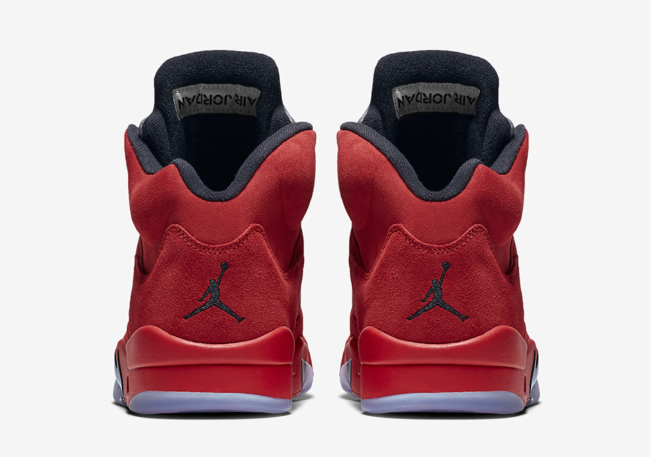 0c9d66311ee Air Jordan 5 Flight Suit (Red Suede) Release Date 136027-602 ...
