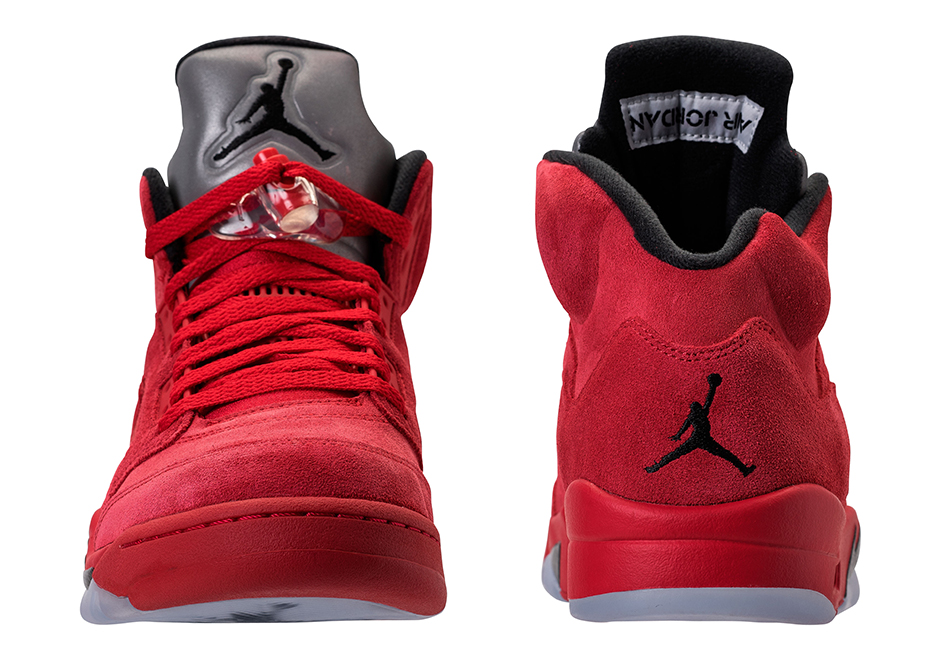 0c6b9674f4e Air Jordan 5 Red Suede Release Info and Price 136027-602 ...