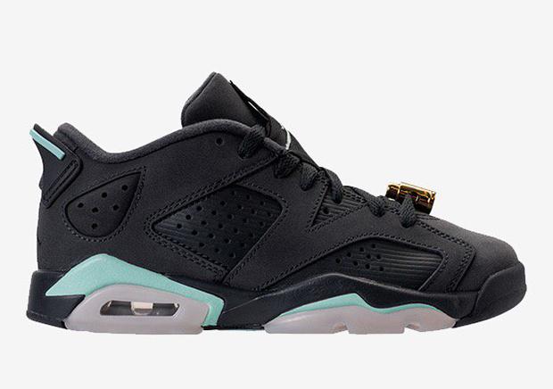 buy popular d7ddd 6090c Air Jordan 6 Low Mint Foam GG Release Date 768878-015   SneakerNews.com