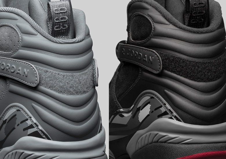 "f309db8d3700d7 The Air Jordan 8 Arrives In New ""Cool Grey"" and ""Cement"" Inspired Colorways"