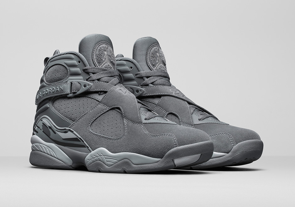 pretty nice 71821 50cda Air Jordan 8 Cool Grey + Cement Release Info | SneakerNews.com