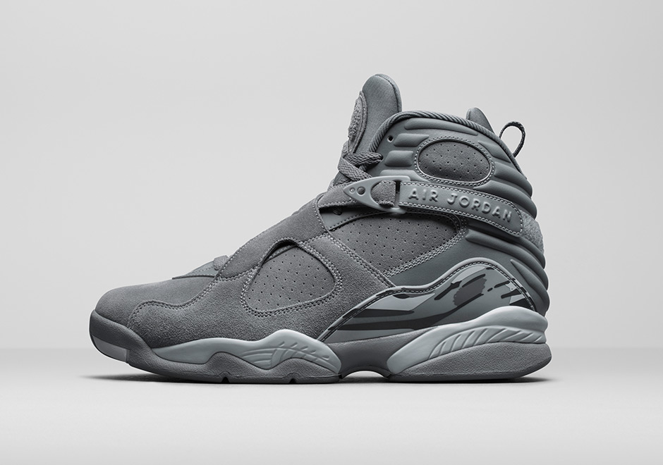 suede grey air jordan 8
