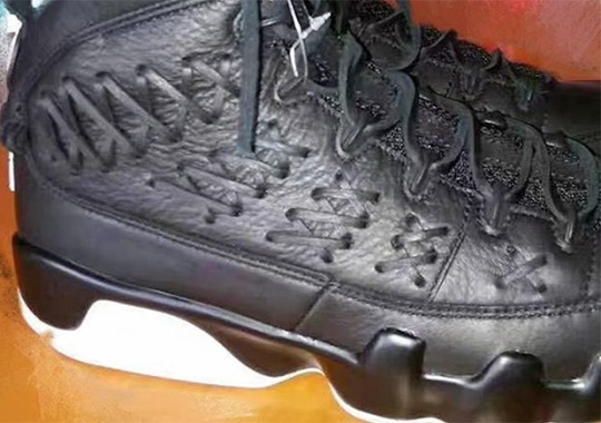 This Upcoming Air Jordan 9 Is Inspired By A Baseball Glove