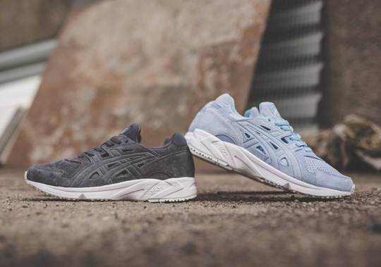 The ASICS GEL DS OG Trainer Releases In Tonal Suede Uppers