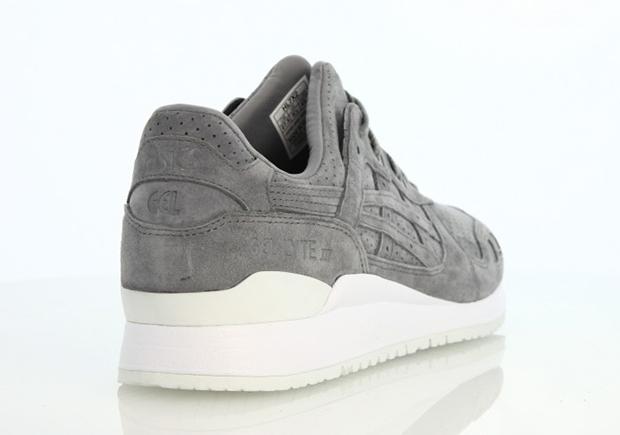 free shipping 664cc 1440b ASICS Gel Lyte III Aluminum Suede | SneakerNews.com