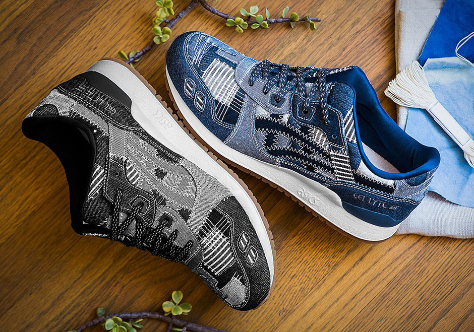 """ASICS looks into the history and traditions of their native Japan once again for inspiration for this latest duo of GEL-Lyte III colorways for the """"Ranru"""" ..."""
