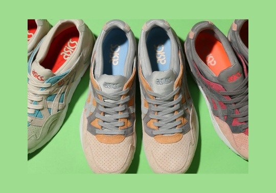ASICS Delivers Three Outstanding GEL-Lyte V Colorways For Summer