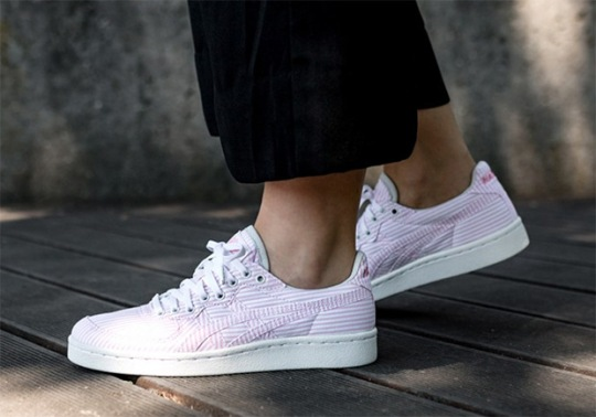 """NAKED Adds """"Cotton Candy"""" Seersucker To The ASICS Onitsuka Tiger GSM"""