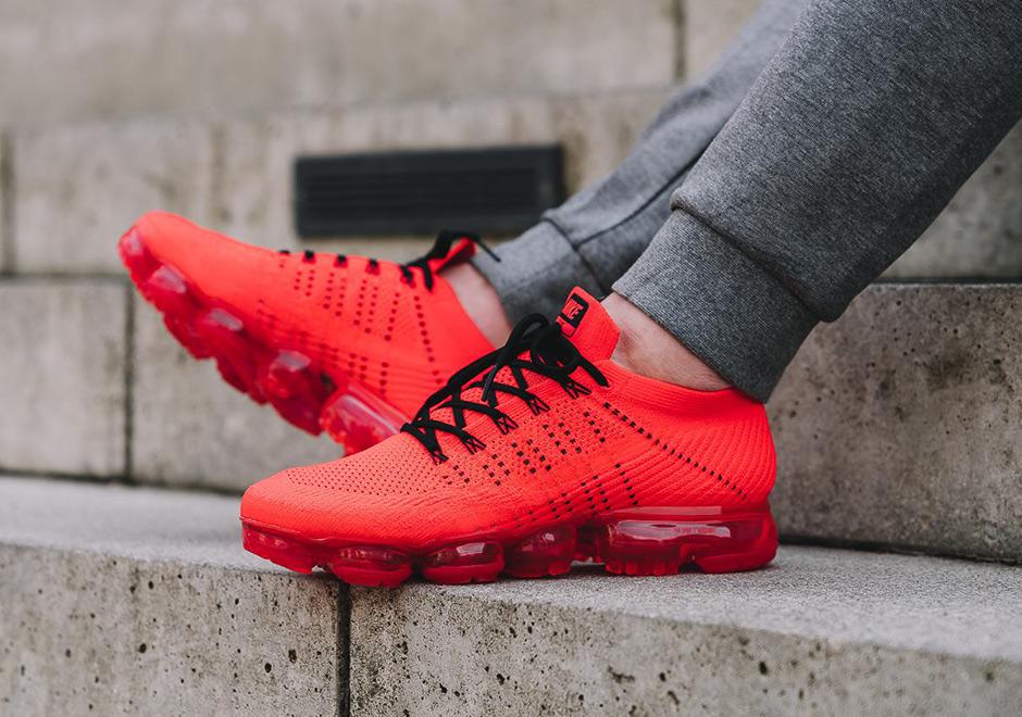 Nike Vapormax Clot On Feet