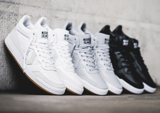 """Converse Treats The Fast Break 83 To Premium """"Perforated"""" Pack"""