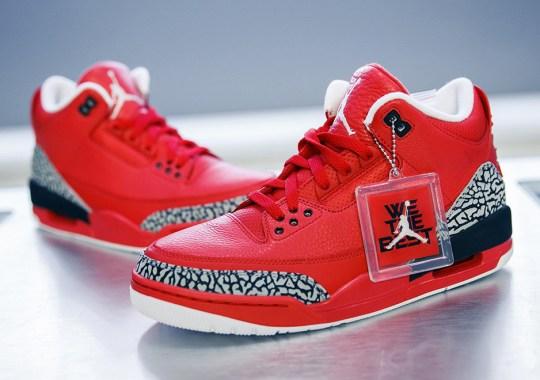 "Stadium Goods Shares A Detailed Look At DJ Khaled's Air Jordan 3 ""Grateful"""
