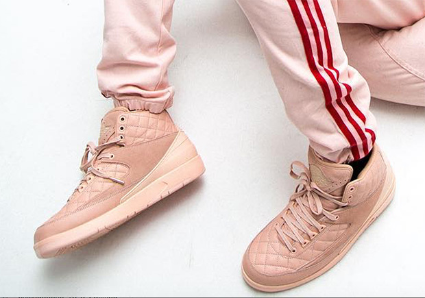 7fe96ca31e56ee Advertisement. The Just Don x Air Jordan 2 is finally releasing in adult  sizes ...