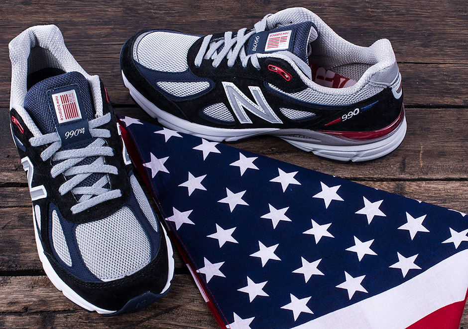 sale retailer a7fd2 60eab DTLR New Balance 990v4 Stars and Stripes | SneakerNews.com