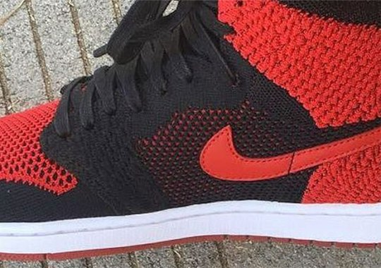 "Fabolous Sports Air Jordan 1 Flyknit ""Banned"" For Jordan Brand Shoot"