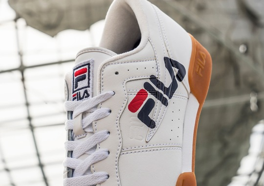 """FILA Presents """"Legacy Pack"""" With Oversized Logos"""