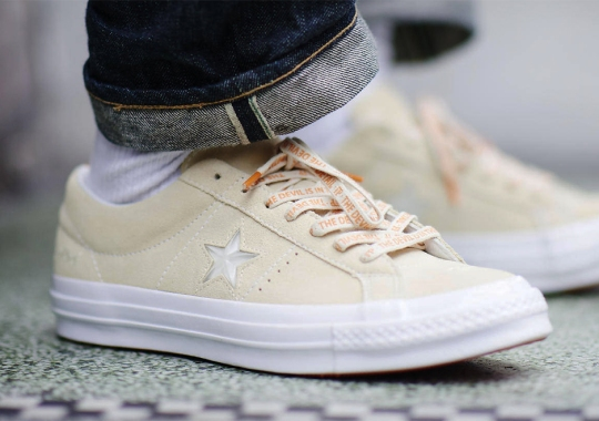 "Foot Patrol's Unique ""Jewel""  Converse One Star Finally Has A Release Date"