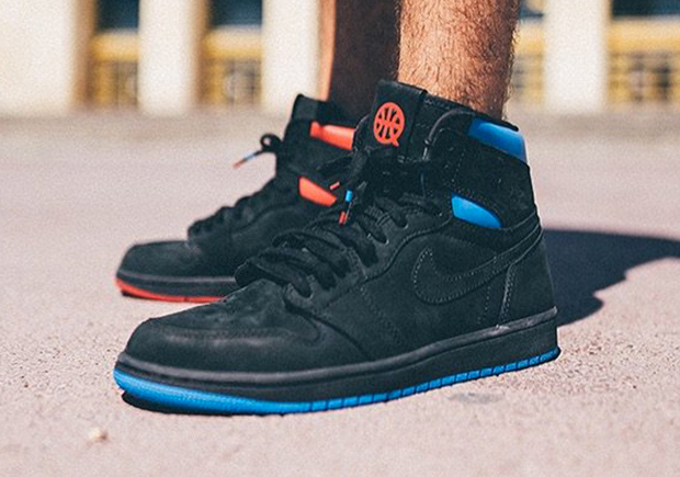 "24f1e529c270 The Air Jordan 1 Retro High OG ""Quai 54"" Features Mismatched Accents"