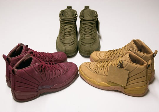 PSNY x Air Jordan 12 Collection Releases on June 28th