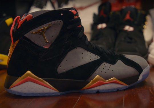 "Jordan Brand Made Special Air Jordan 7 ""Wild 'N Out"" PEs For Nick Cannon"