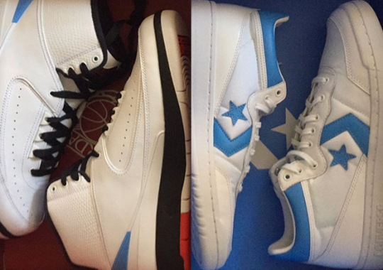 First Look At The Jordan Converse Pack