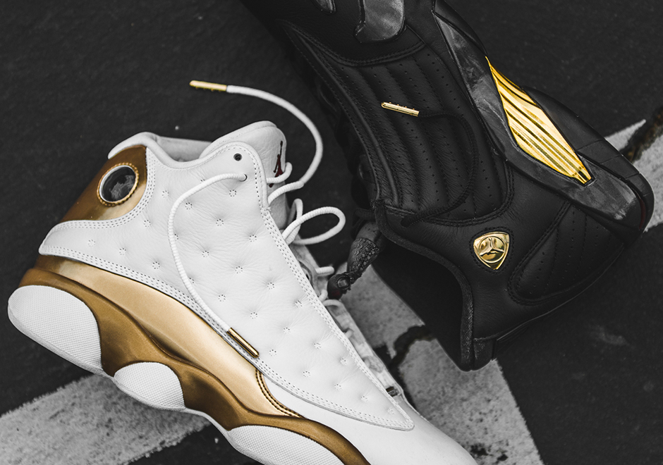 "the latest 2efa7 c5920 Where To Buy The Air Jordan 13 14 ""Defining Moments"" Pack"
