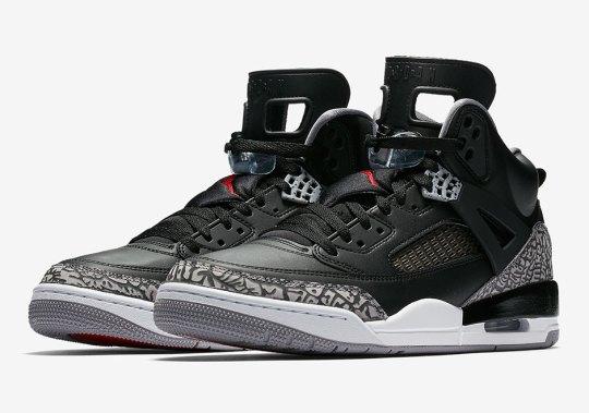 "Official Images Of The Jordan Spiz'ike ""Black/Cement"""