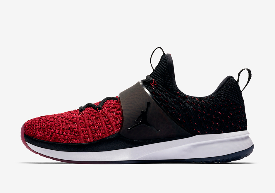 huge discount 7a25b 21b4b Jordan Trainer 2 Flyknit Release Date  June 27th, 2017. AVAILABLE ON  Nike.com  140. Color  Black Gym Red-White