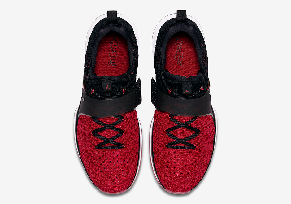 816f4bbbbef Jordan Trainer 2 Flyknit Release Date: June 27th, 2017. AVAILABLE ON Nike.com  $140. Color: Black/Gym Red-White Style Code: 921210-601. show comments