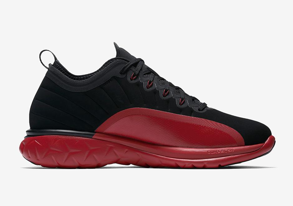 Jordan Shoe  Black Red