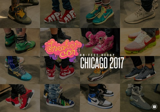 Here's A Look At Two Days Worth Of Heat From Sneaker Con Chicago