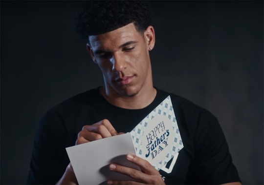 Lonzo Ball Writes Hilarious Fathers Day Card In Latest Foot Locker Clip