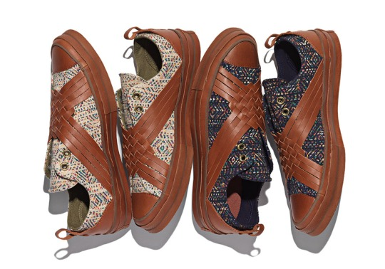 Missoni x Converse Chuck Taylor All Star Slip Collection