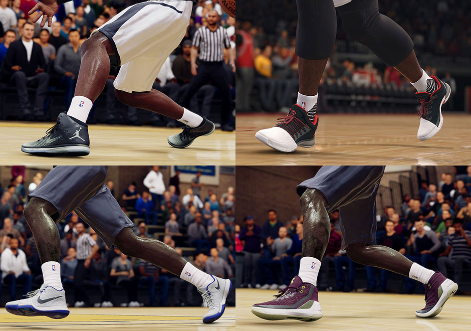 In basketball simulation games, realistic depictions of sneakers are as  important as the gameplay. EA Sports, purveyor of the NBA Live franchise,  ...