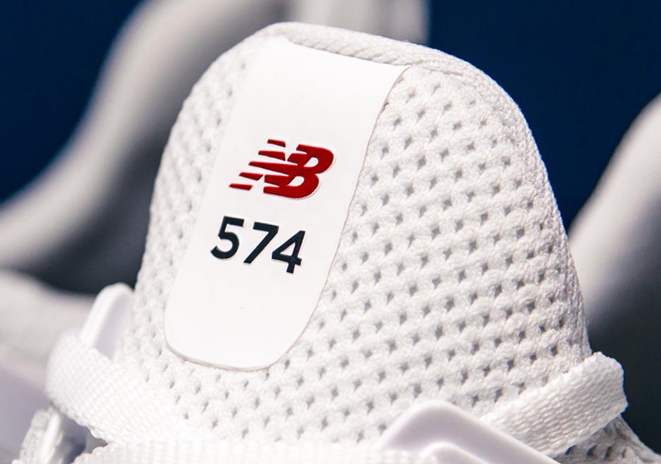 Nuevos 574s Balance De Blancos / Azul / Rojo ymEKnWTji