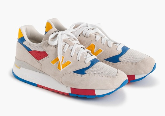 J.Crew Releases A New Balance 998 Inspired By Beach Balls