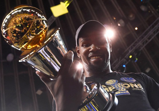Nike Celebrates Kevin Durant's 10 Years With The Brand With 'Making Of A Champion' Video